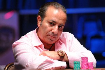 Poker player Sam Farha champion